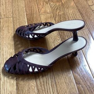 Ann Taylor Loft Pure Leather Step In